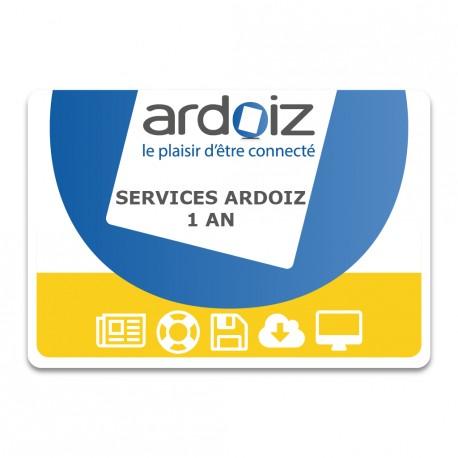 Services ARDOIZ paiement annuel
